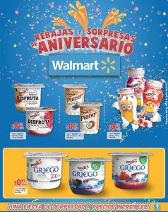 Ricos y deliciosos sabores de yogurt YOPLAIT ofertas WALMART - 15jul15