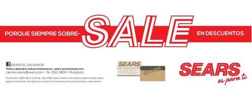 SALE weekend gracias a almacenes SEARS - 04jul15