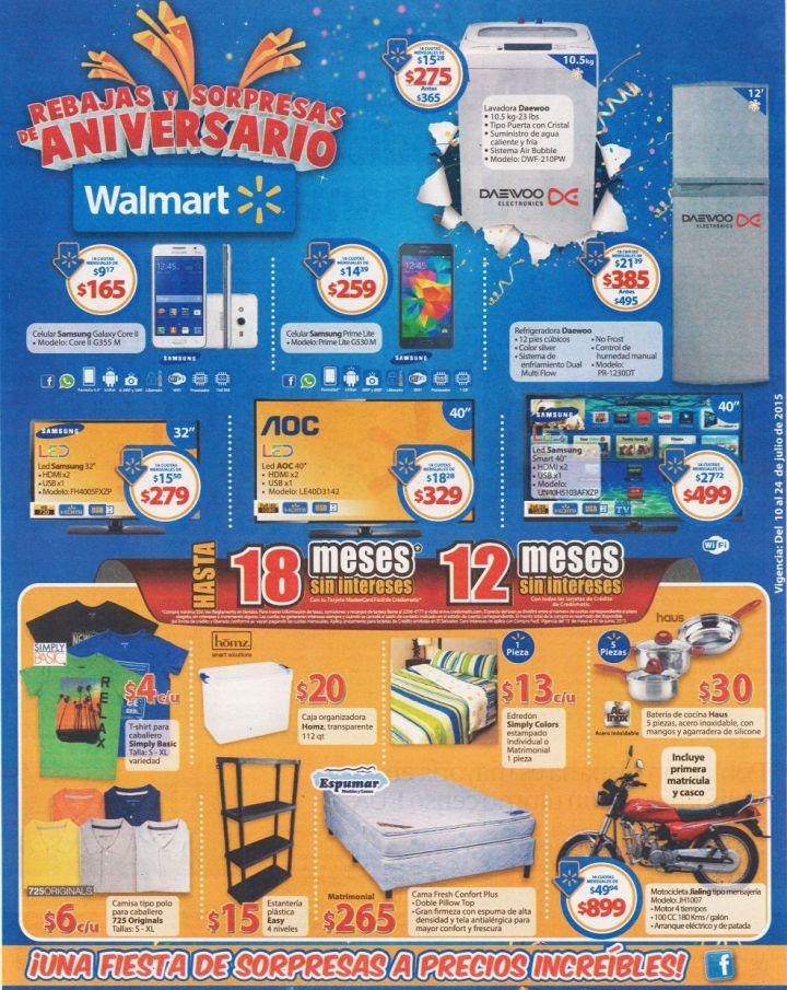 Sigue comprando y ahorrando con las REBAJAS WALMART - 10jul15