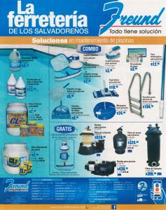 Supplies for POOLS manintence