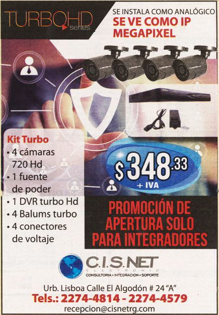 TURBO HD series security camera system