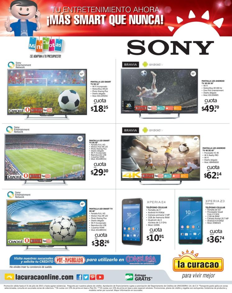 TV SONY Bravia con android system smart television