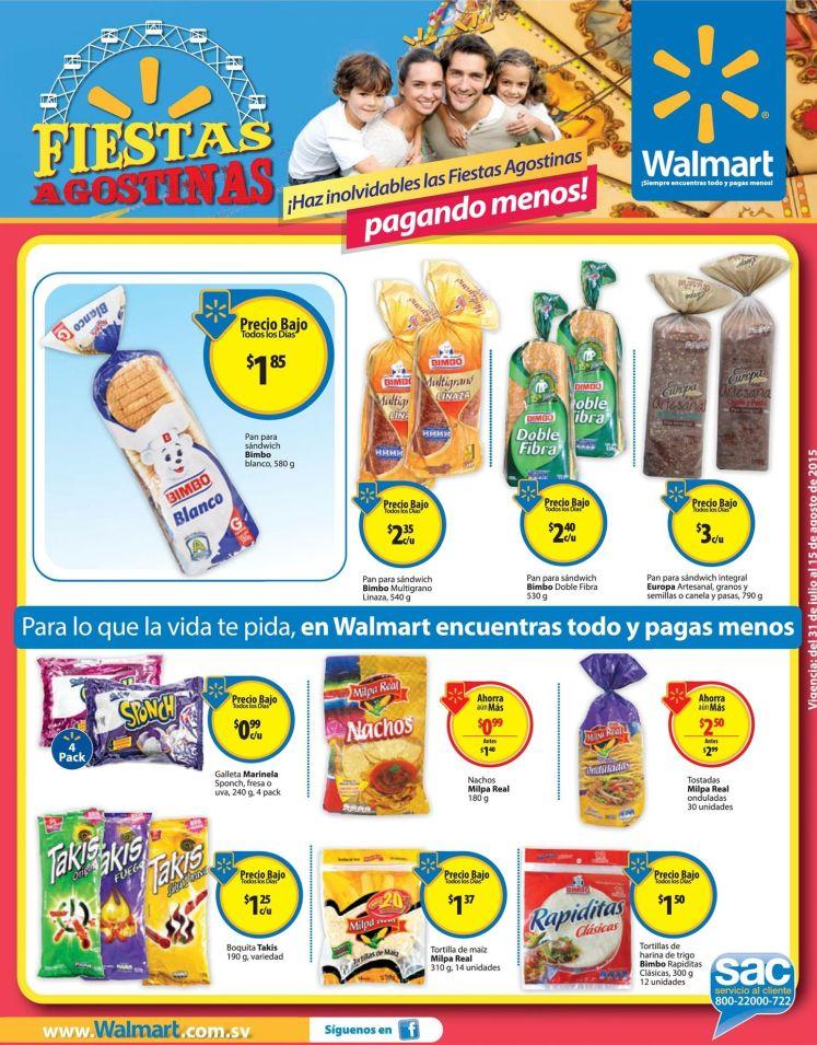 Tus boquitas y snacks preferidos WALMART vacations deals