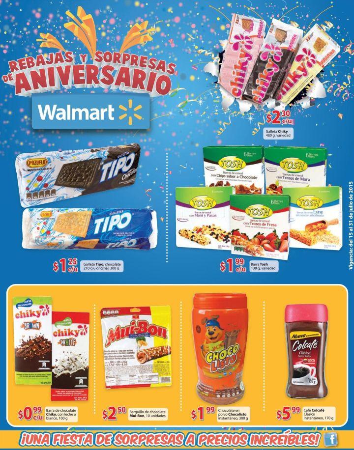 WALMART te invita a una fiesta de sorpresas y precios increibles - 15jul15