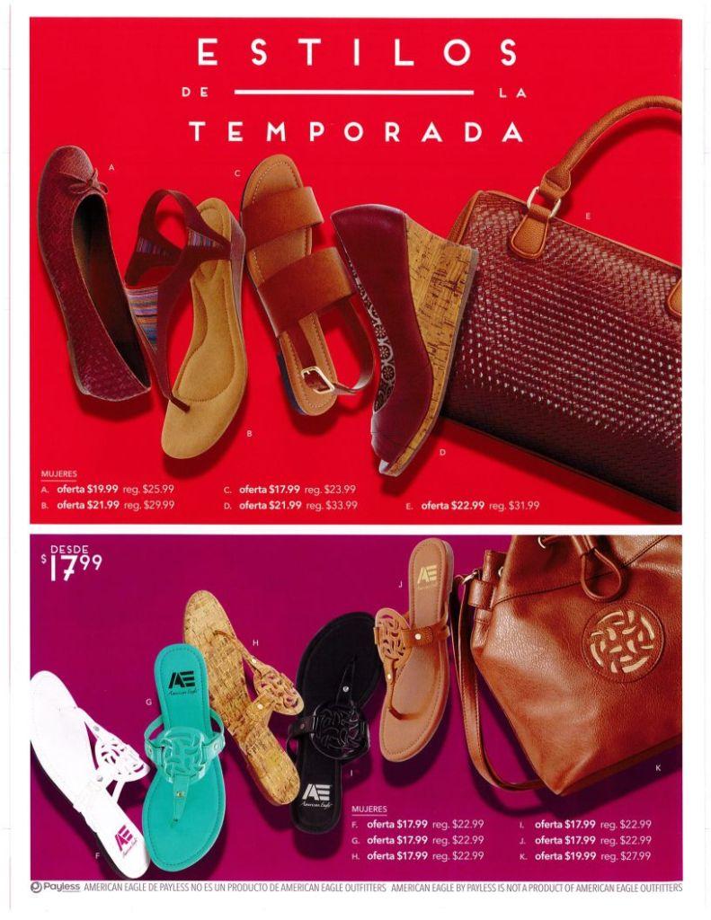 calzado para damas en promociones PAYLESS