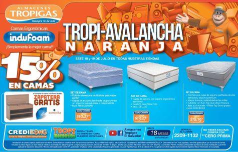 camas al mejor precios con almacenes tropigas