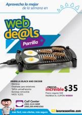 parrilla black and decker ONLINE deals la curacao