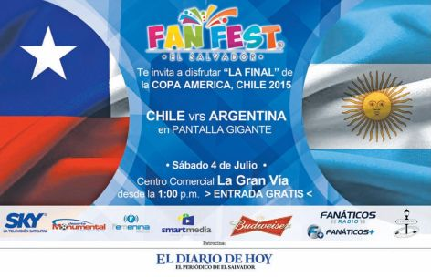 sky tv satellite VER GRATIS final de la COPA AMERICA chile 2015
