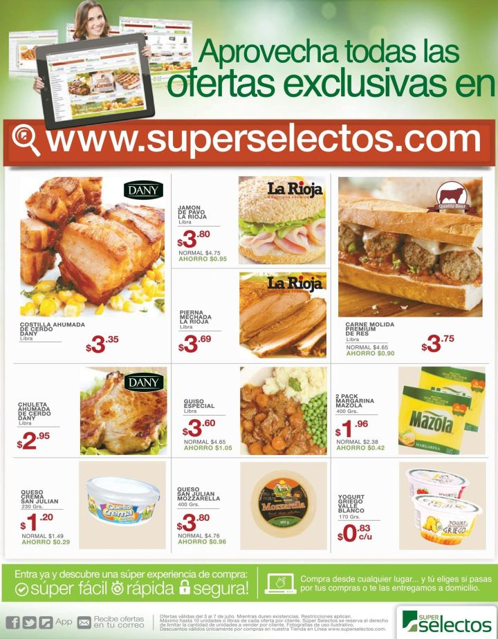 superselectos.com SALE discounts super market online