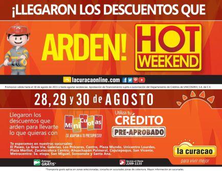 ATENCION llegan estan llegando los descuentos HOT weekend