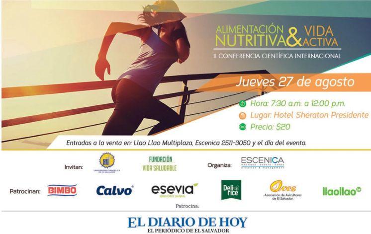 Alimentacion nutritiva y vida activa CONFERENCIA CIENTIFICA