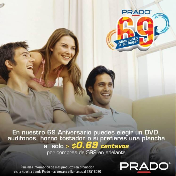 Aniversio 69 almacenes PRADO promocion articulos por 69 centavos