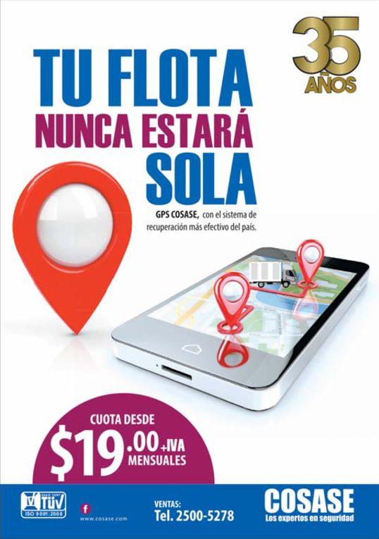 COSASE servicio de GPS para tu flota de vehiculos