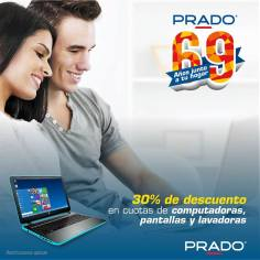 Computers laptop portatiles CON 30 OFF en PRado aniversario