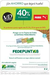 Fin de semana 40 OFF descuentos en PUMA y MD shoes