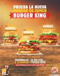 GENIUS whopper new burger king speciality