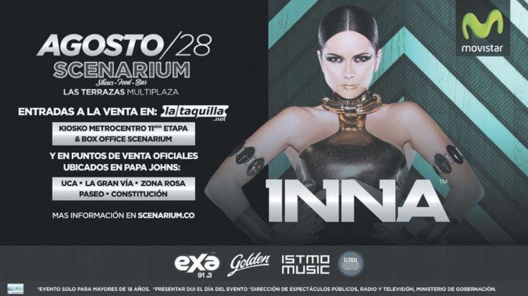 ISTMO MUSIC presenta INNA elsalvador 2015 electronic show