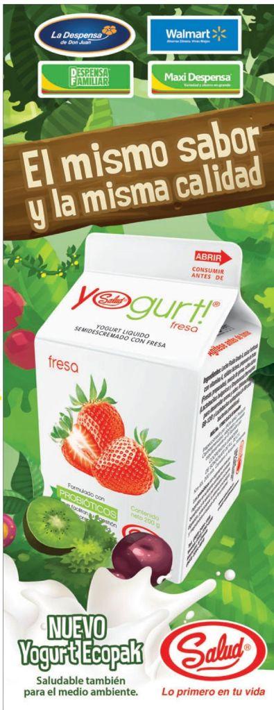 Nuevo YOGURT con nueva presentacon gran sabor