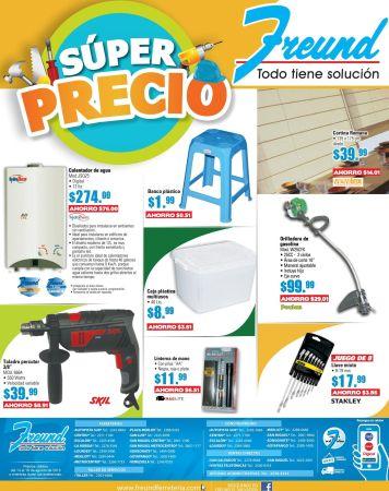 SUPER PRECIO en productos FREUND calentador de agua - 14ago15