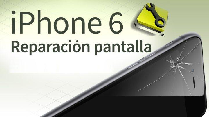 como reparar la pantalla de tu iphone 6