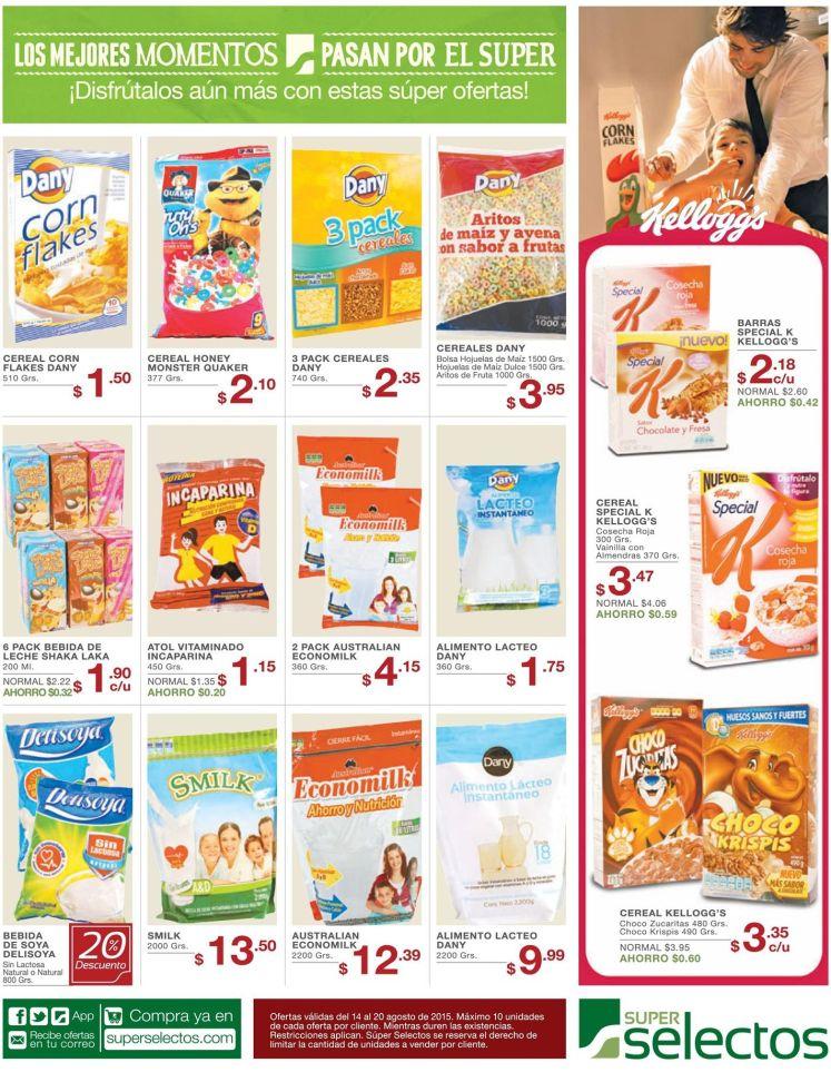 promociones en Ricos y Nutritivos cereales para tu familia - 14ago15
