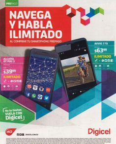 smartphones ANDROID de DIGICEL desde 39.99 dolares