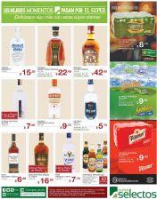 Cervezas Vodkas Rones Whiskeys TODO ofertas super selectos fin de - 12sp15