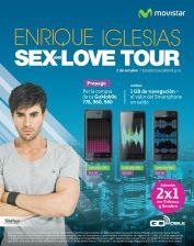 Compra tu nuevo celular GO MOBILE y obten entradas al 2x1 para ver Enrique Iglesias