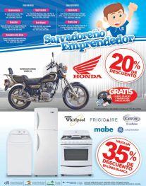 Descuentos en la compra de motos HONDA el salvador