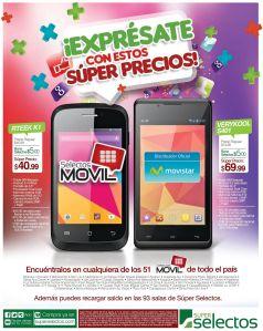 Encuentra estas promociones SELECTOS MOVIL y expresate con estos celulares