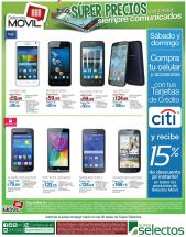 Este fin de semana 15 OFF en selectos movil con CITI - 19sep15