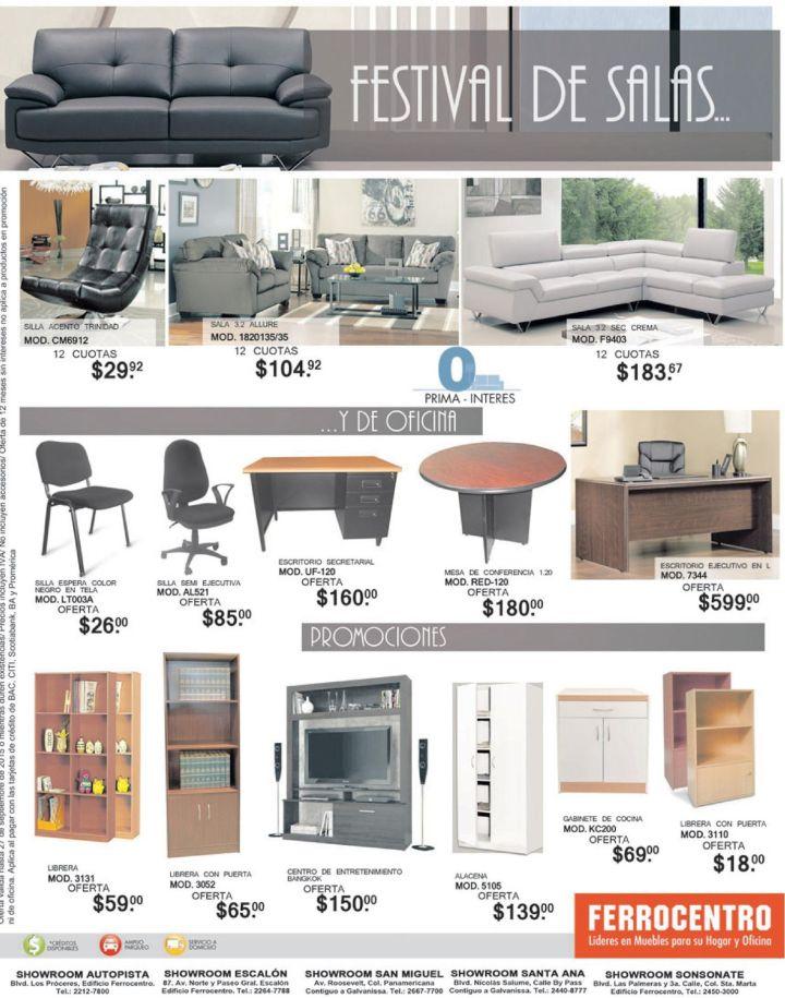 Ferrocentro el salvador promociones en muebles de sala y for Saga falabella muebles de sala ofertas