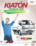 KIATON promociones en camiones 4x2