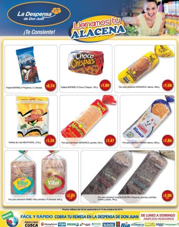 LA Despensa de Don JUan promociones diarias aqui - 30sep15