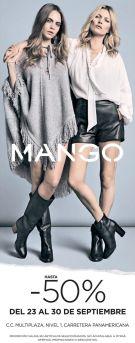 MANGO fashion store 50 OFF mutiplaza el salvador