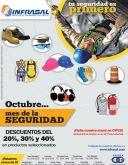 OXGASA Descuntos en OCTUBRE mes de la seguridad laboral