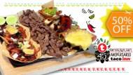 Paga 10 y Consume 20 en todo el Menú de Taco Inn
