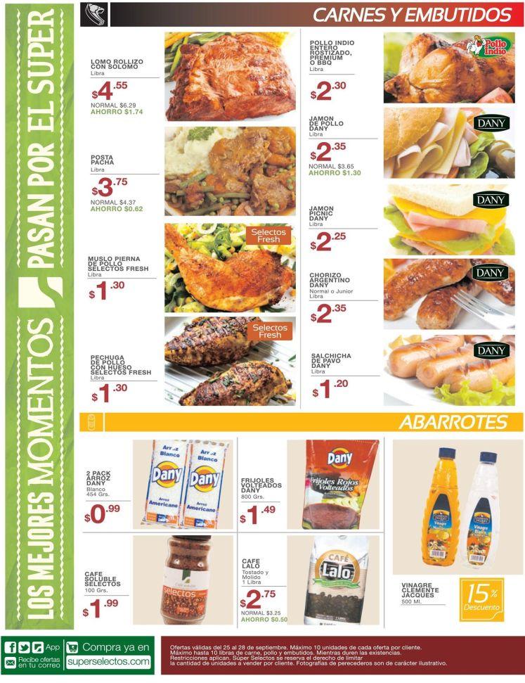 estas son las ofertas en carnes y embutidos de hoy - 25sep15