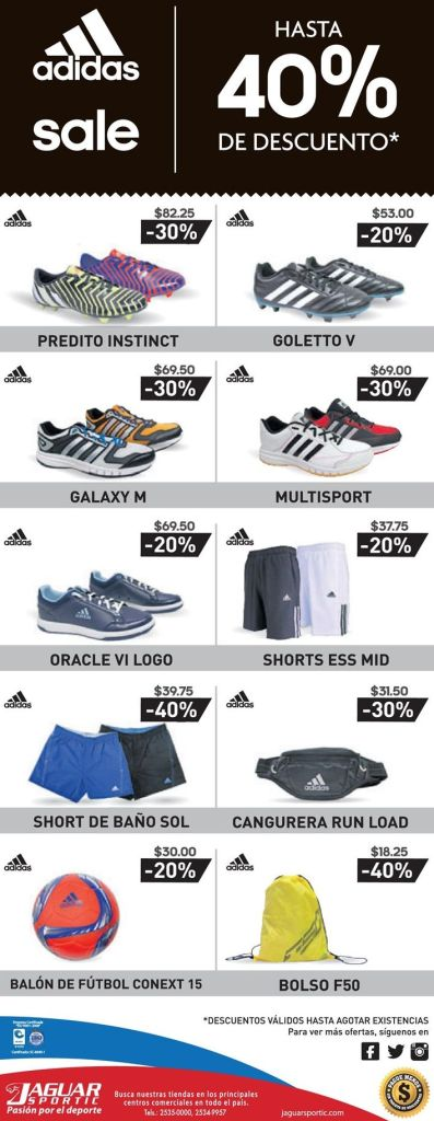 Adidas shoes 40 OFF this weekend