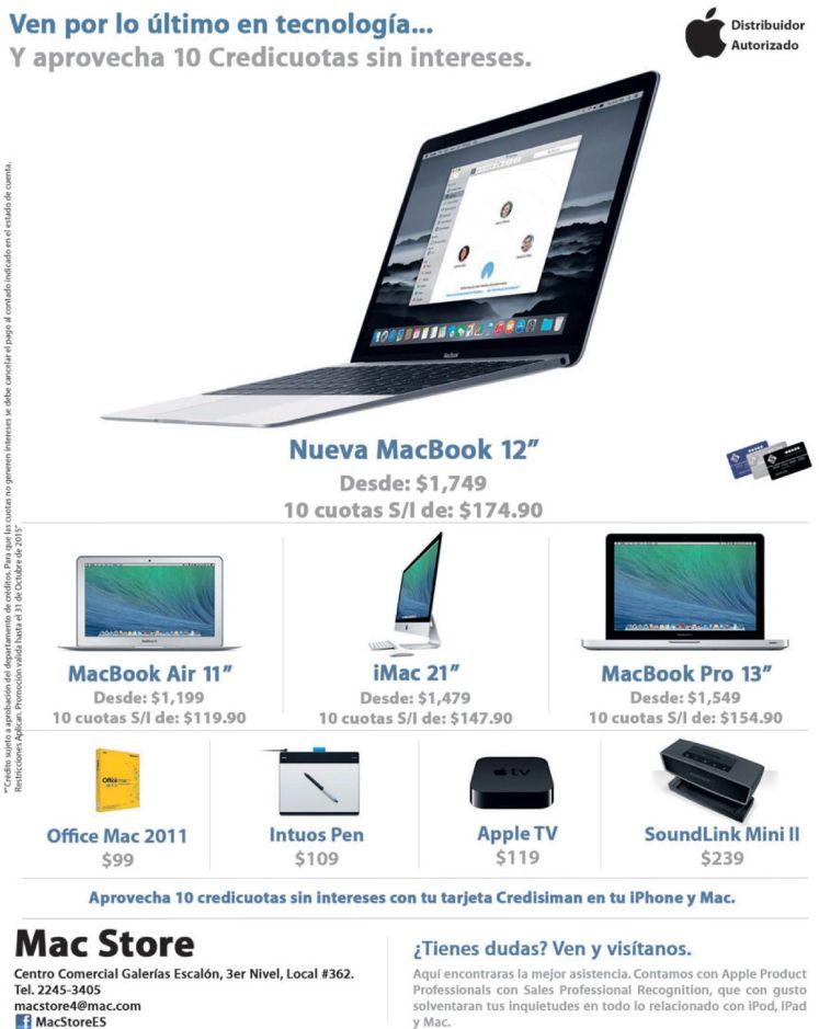 Conoce los productos de la MAC STORE el salvador