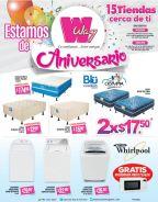 Cuotas especial y promociones en WAY por aniversario - 02oct15