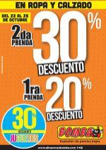 FIN De SEMANA con descuentos BOMBA en ropa y juguetes - 23oct15