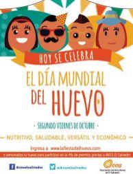 Hoy se celebra el DIA MUNDIAL DEL HUEVO