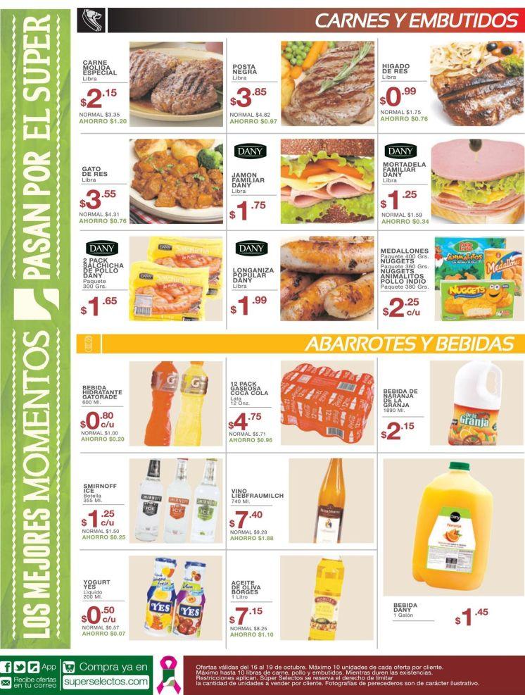 Loas ofertas del sia en super selectos - 16oct15