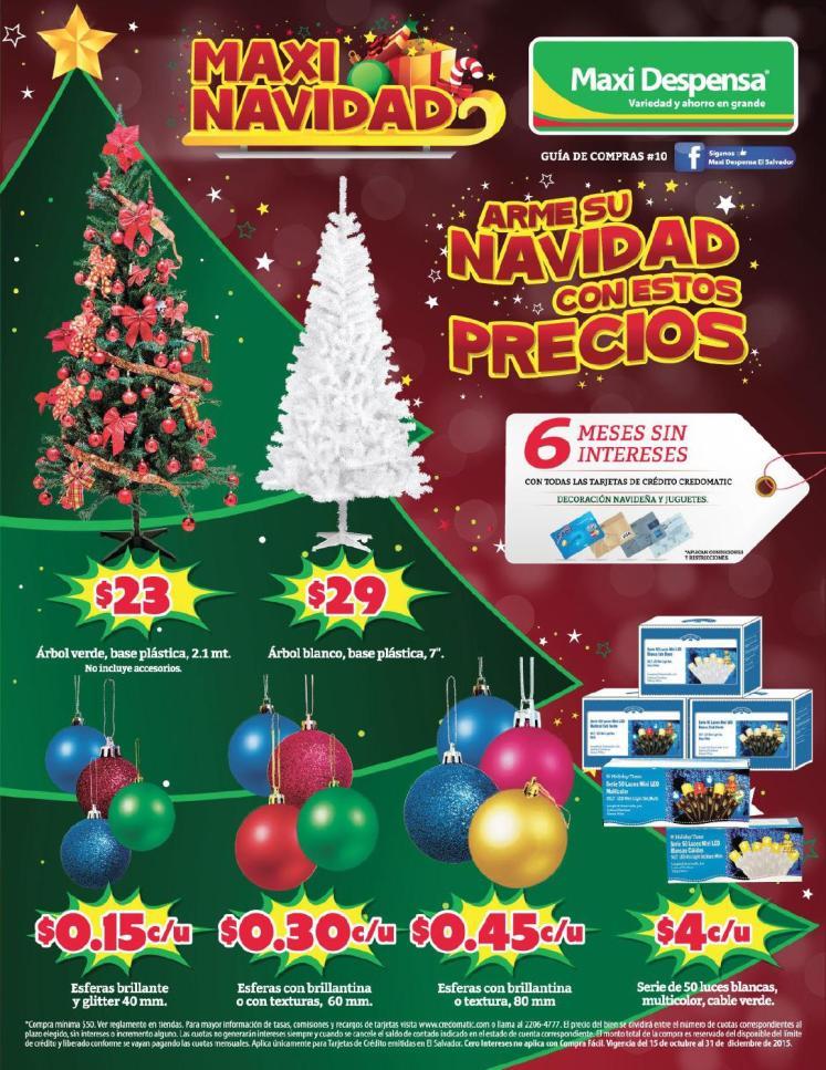 MAXI NAVIDAD de supermercados maxi despensa 2015