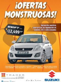 MONSTER offers SUZUKI swift trader deals
