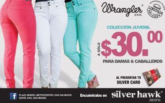 Muestra tus curvas con unos JEAN WRANGLERS limited edition
