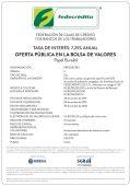 Oferta publica en BOLSA DE VALORES forex opportunity trade commision