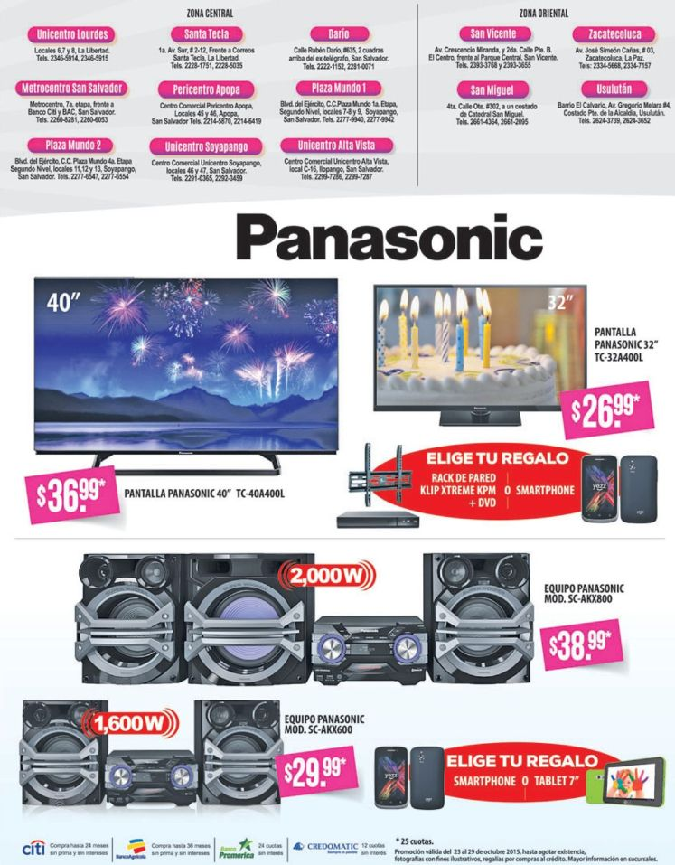 PANASONIC sound engine system for HOME