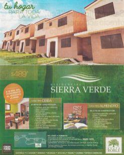 Residencial SIERRA VERDE casas roble el salvador